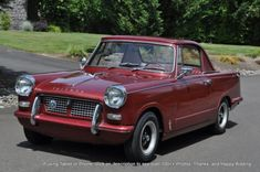 1962 Triumph Herald  The material which I can produce is suitable for different flat objects, e.g.: cogs/casters/wheels… Fields of use for my material: DIY/hobbies/crafts/accessories/art... My material hard and non-transparent. My contact: tatjana.alic@windowslive.com web: http://tatjanaalic14.wixsite.com/mysite