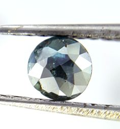 0.28TCW 4.0 MM Round Rose cut Blue Gray Mix color Antique Natural Loose Diamond #UdhrashGems