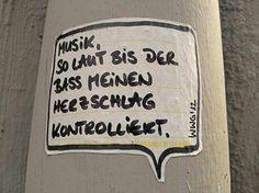 Musik nimmt alle Sorgen-