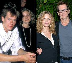 Kyra Sedgwick and Kevin Bacon  The actors first laid eyes on each other in 1987 when they played the romantic leads in the TV movie Lemon Sky. Sedgwick and Bacon tied the knot Sept. 4, 1988, and later welcomed son Travis (born June 1989) and daughter Sosie (born March 1992).