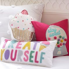 Soda Pop Pillow Collection | PBteen