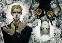 JOJO BIZARRE ADVENTURE : ART BOOK ANTHOLOGY   Kira Yoshikage & Killer Queen