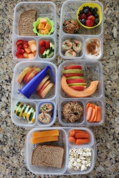Divided Lunch Container Examples
