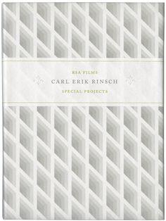 Showreel packaging, Ridley Scott Associates. Design by David Pearson  http://www.davidpearsondesign.com