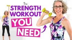 SIMPLE, Essential Strength Training Workout for Women over 50 ✨ Pahla B Fitness