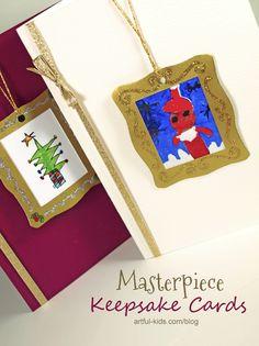 Masterpiece Keepsake Christmas Card : Artful Adventures
