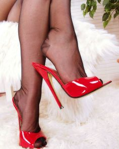 Discover Nylons and Mules ideas on Pinterest