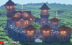Minecraft Small Castle, Minecraft Castle Designs, Minecraft Medieval Village, Minecraft Castle Blueprints, Minecraft Kingdom, Cute Minecraft Houses, Minecraft Plans, Minecraft Decorations, Amazing Minecraft