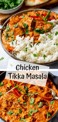 Chicken Tikka Masala - tender chunks of marinated chargrilled chicken in a a creamy mild sauce with garlic, ginger and spices. Kids and adults alike love this dish. Chicken Tikka Masala, Tikka Masala Sauce, Beef Masala, Indian Food Recipes, Asian Recipes, Indian Chicken Recipes, Chargrilled Chicken, Comida India, Indian Dishes