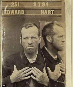 From the donkey thief to the drunk who wouldn't leave the pub: Criminal records of Victorian villains published online for first time Victorian Photos, Antique Photos, Vintage Photographs, Old Photos, Vintage Photos, Victorian Prison, Victorian Era, Forensic Photography, Vintage Magazine