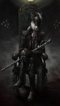 ArtStation - Fanart - Lady Maria of the Astral Clocktower, Viet Le Quoc