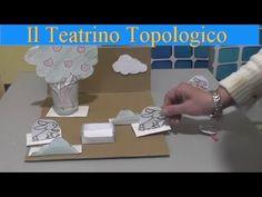 Classe Prima: Geografia, video tutorial per realizzare un gioco per imparare i concetti topologici Montessori, Tutorial, Video, Crafts For Kids, Dads, Place Card Holders, Youtube, Education, Happy