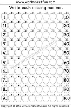 Missing Numbers – 1-100