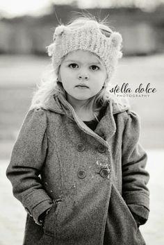 Little girl in the snow   Nashville, TN Photographer - Stella Dolce Photography Blog