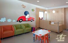 Decoración para el looby de una clinica pediatrica. MURARS es diseño.