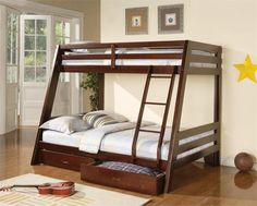 Coaster Bunks Twin Over Full Bunk Bed Las Vegas Furniture Online | LasVegasFurnitureOnline | Lasvegasfurnitureonline.com