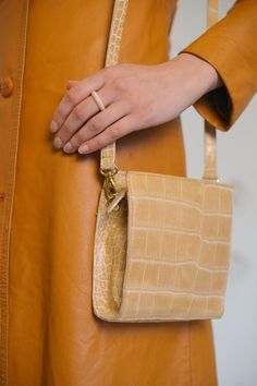 dfad2ac513ee Coccinelle Mini Cocodrile Print Leather Bag