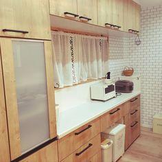 アンティーク/カフェ風/リフォーム/アレスタ/ライトグレインのインテリア実例 - 2017-05-26 12:08:12 Japanese House, Double Vanity, Kitchen Cabinets, Bathroom, Storage, Spaces, Furniture, Home Decor, Solid Wood