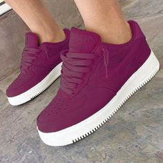 Air Force One's Tight Color Sneaker Heels, Shoes Sneakers, Basket Style, Nike Kicks, Tenis Casual, Fresh Shoes, Air Force 1, Nike Air Force Ones, Pretty Shoes