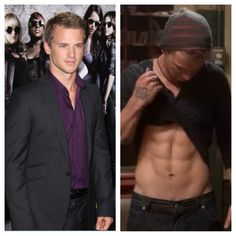 "Freddie Stroma. ""You should probably lay off the cheese burgers"" ""...I think I'm good"". Yes, yes you are :)"