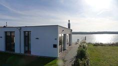 Haus am See mit Privatstrand - Löbnitz - Haus von der Straße aus gesehen