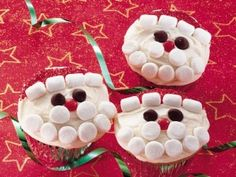 Santa Cupcakes- so going to make these for the cake stall on Fri @Claire Hicks @Kirsty Sinclair @Lauren Jones-Rogers