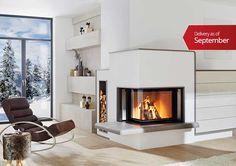Masonry Heater Boiler - waterbearing tiled stoves by Brunner