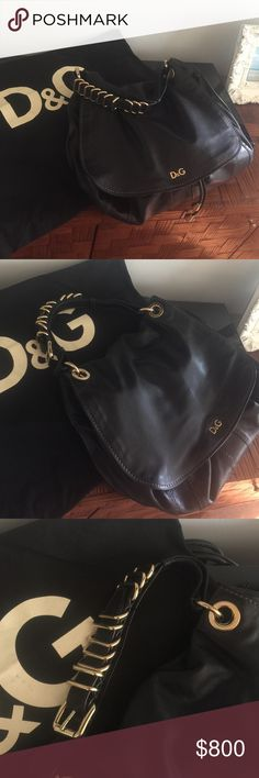 Dolce gabbana bag Authentic has a lot space! Perfect condition, leather, no smoke Dolce & Gabbana Bags