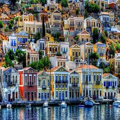 Symi island, Greece.