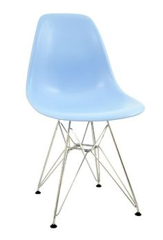 awesome RETRO EAMES INSPIRED DSR 'EIFFEL' LOUNGE DINING CHAIR - LIGHT BLUE (MULTIPLE COLOURS AVAILABLE) Buy this and much more home & living products at http://www.woonio.co.uk/p/retro-eames-inspired-dsr-eiffel-lounge-dining-chair-light-blue-multiple-colours-available/