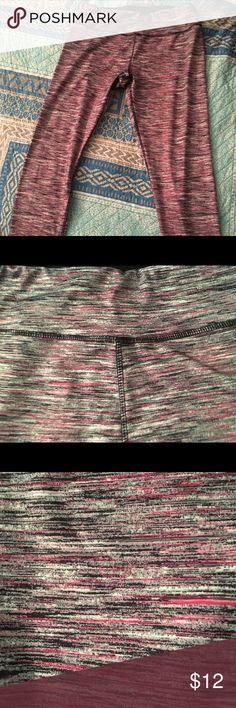 Designed Capri leggings Capri gym leggings with pink/black/white design  88% polyester / 12% spandex RBX Pants Leggings