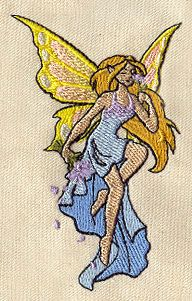 Summer Fairy | Urban Threads: Unique and Awesome Embroidery Designs