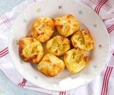 Lepény a Mindmegette recepttárban Penne, Baked Potato, Cauliflower, Muffin, Potatoes, Baking, Vegetables, Breakfast, Ethnic Recipes