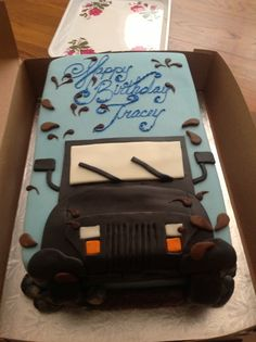My jeep birthday cake!!