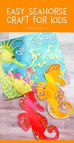 Super ocean art projects for kids sea theme free printable 43 Ideas Ocean Theme Crafts, Ocean Themes, Ocean Kids Crafts, Animal Crafts For Kids, Diy Crafts For Kids, Children Crafts, Easy Crafts, Sea Animal Crafts, Kids Diy