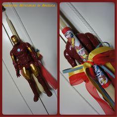 Easter Candle, Lampada, Λαμπάδα, Iron Man