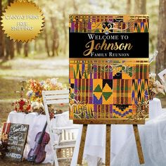 Africa Guest book Welcome Canvas sign for Birthday Party – Dream Design Group Banners African Party Theme, African Wedding Theme, Traditional Wedding Decor, African Traditional Wedding, Card Box Wedding, Wedding Guest Book, Afro Chic, Birthday Canvas, Beach Wedding Favors