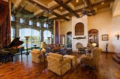 Mediterranean design style - Austin custom homes, Builder for Waterfront Custom Homes