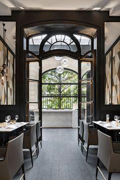 parisian café Artcurial | iDesignArch