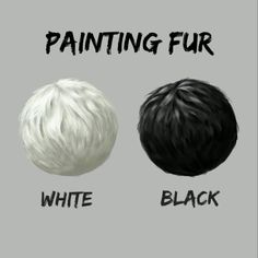 Painting black and white fur Painting Fur, Acrylic Painting Lessons, Painting Tips, Painting Techniques, Gouache Painting, Digital Painting Tutorials, Digital Art Tutorial, Animal Paintings, Animal Drawings