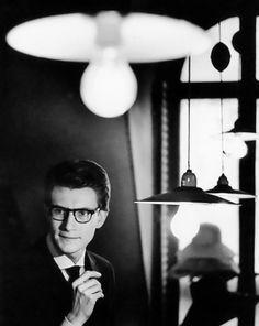 #Update -- #YvesSaintLaurent by #PierreBoulat Paris 1962 -- #BlackTie