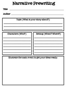 ... Narrative Writing on Pinterest | Narrative Writing, Fiction Writing