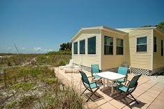 "Anna Maria Island vacation rental ""Dolphin Watch"" is directly on powder sand beaches. Step out onto the back patio during your stay, and look for Dolphins swimming in the gulf."