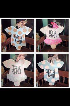 Baby Door Hanger Baby Onesie Baby Hosiptal by SouthernStyleGifts, $44.99
