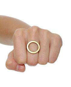 Cheap Monday Gold Hole Ring