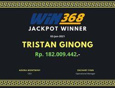 Jackpot Winner Win368 4 Januari 2021 Jackpot Winners