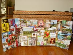"""vision board   Everyday Mom Ideas: My Take On A """"Vision Board"""""""