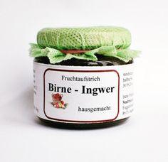 Birne Ingwer Fruchtaufstrich - Irenas Spezialitäten Augsburg