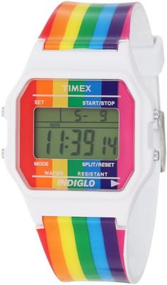Rainbow watch | Timex via Amazon.