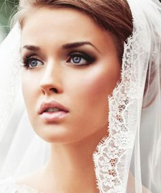 Enhance that natural wedding-day glow with one of these stunning bridal beauty ideas